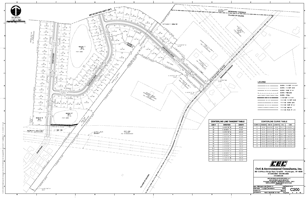 Single Family Site Plan